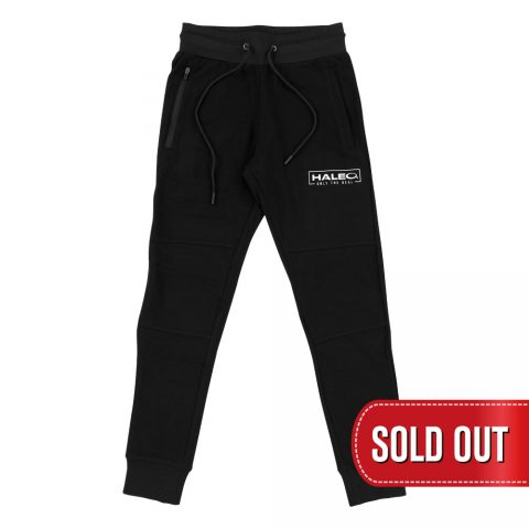 HALEO REAL SLIM FIT JOGGER BLACK