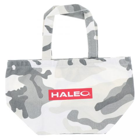 HALEO MINI TOTE WHITE CAMO BOX LOGO