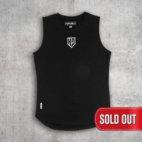 HALEO CREST SLEEVELESS BLACK