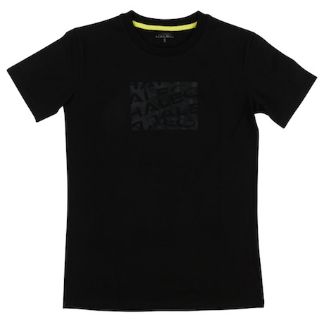 HALEO STRIPES TEE BLACK