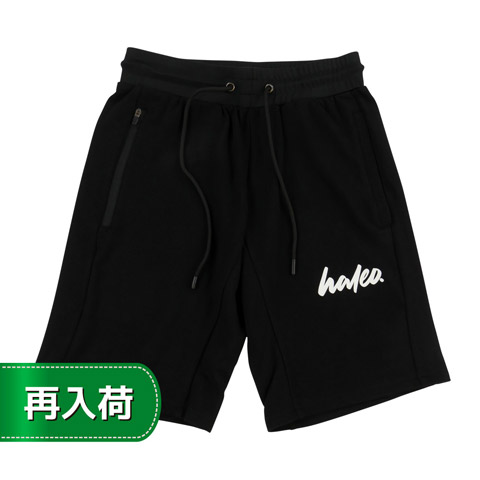 HALEO MILAN SHORTS BLACK