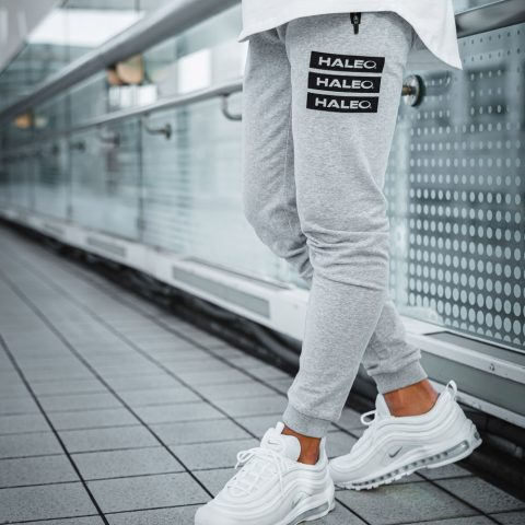 HALEO STACKED JOGGER GRAY