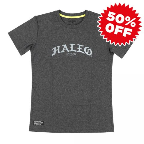 【SALE!50%OFF】HALEO GOTHIC TEE GRAY